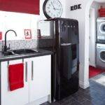 Black Red White Kitchen Decorating Housetohome