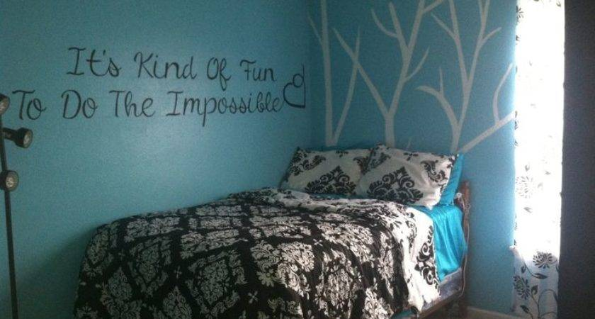 Black Teal Bedroom Completed Pinterest Projects