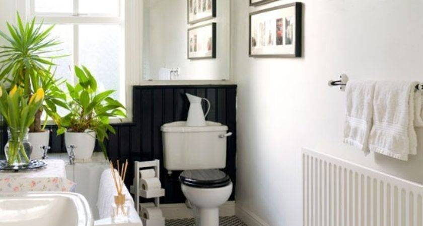 Black White Bathroom Design Housetohome