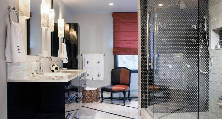 Black White Bathroom Designs Ideas