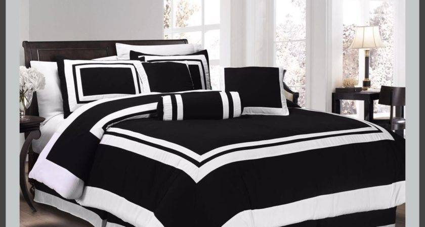 Black White Bed Bag Hometrends