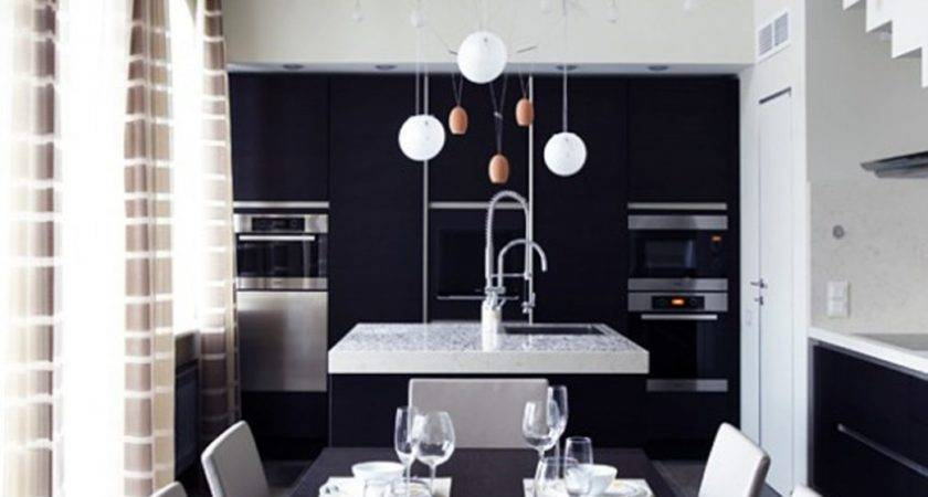 Black White Dining Room Red Ideas Roomeas