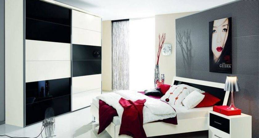25 Best Photo Of Red Black And White Bedroom Decor Ideas Barb Homes