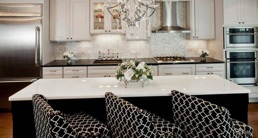 Black White Transitional Kitchen Photos Hgtv