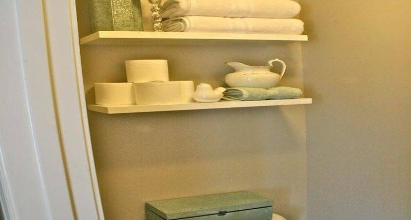 Bloombety Bathroom Shelving Ideas