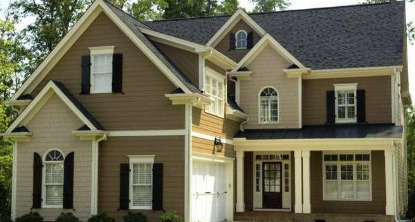 Bloombety Cement House Siding Brown Color Design