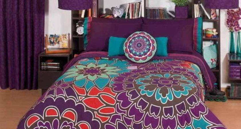 Bloombety Comforters Teenage Girls Purple