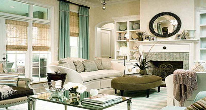 Bloombety Cozy Mint Green Living Room Decor