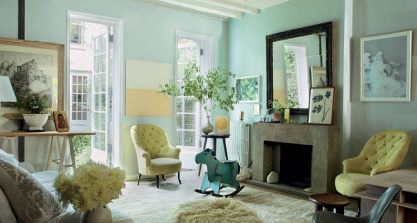 Bloombety Mint Green Living Room Decor Vogue