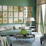 Bloombety Mint Green Paint Color Style Living Room