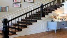 Bloombety Painted Black Stair Railing