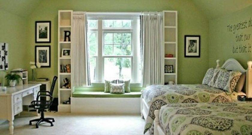 Bloombety Relaxing Bedroom Green Paint Color Schemes