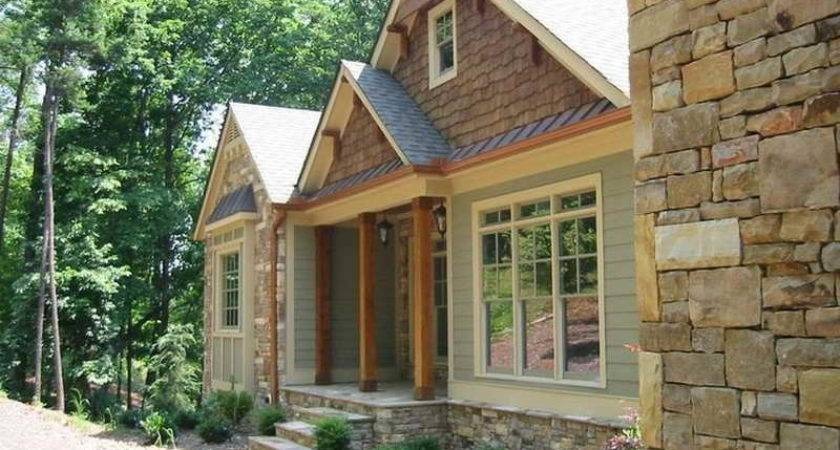 Bloombety Small Rustic Home Plans Stone Art