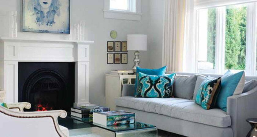 Bloombety Turquoise Living Room Decor Ideas