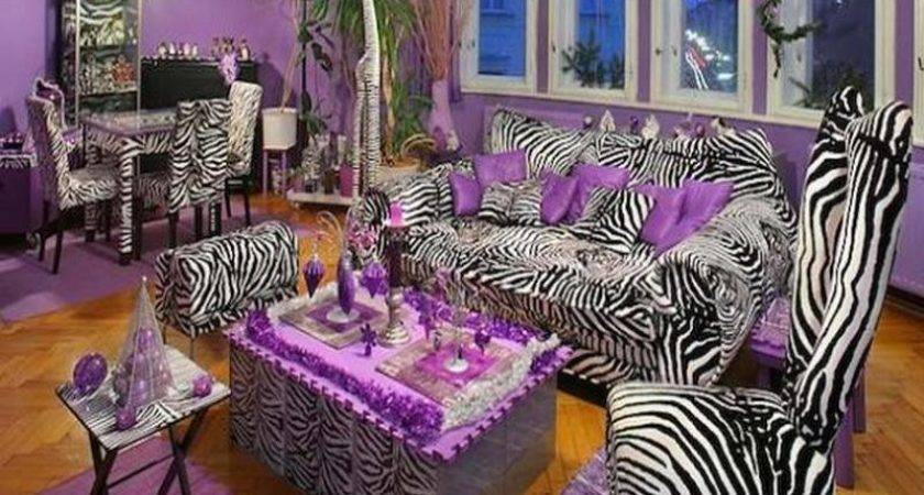 Bloombety Zebra Living Room Decorating Ideas