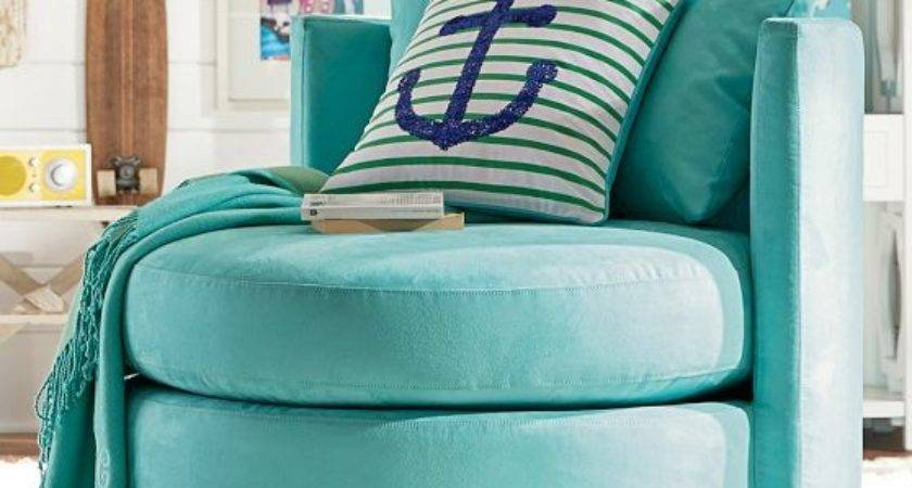 Blue Bedroom Accessories Chairs Teenage Girls Round