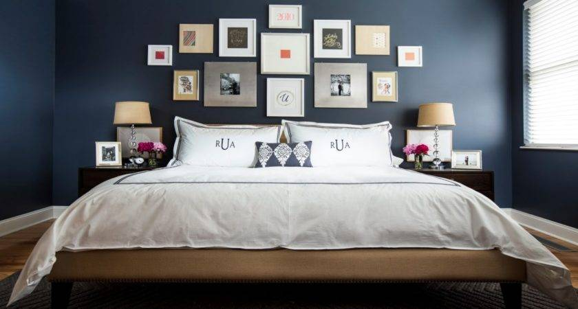 Blue Bedrooms White Decorating Navy