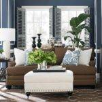 Blue Brown Living Room Decor Pinterest Grab Decorating