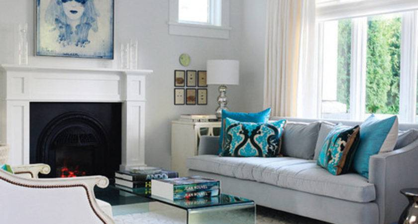 Blue Living Room Decor Designs