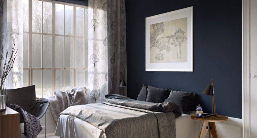 Blue Painted Bedrooms Master Bedroom Inspired Wall