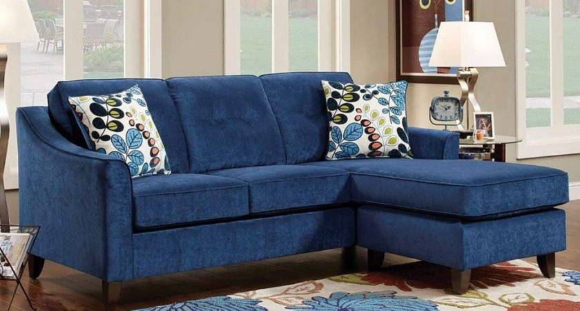 Blue Suede Sectional Sofa Best Home Furniture Ideas Cbid