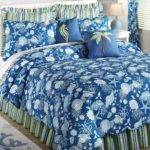 Blue White Bedding Set Seastar Seashell Coral