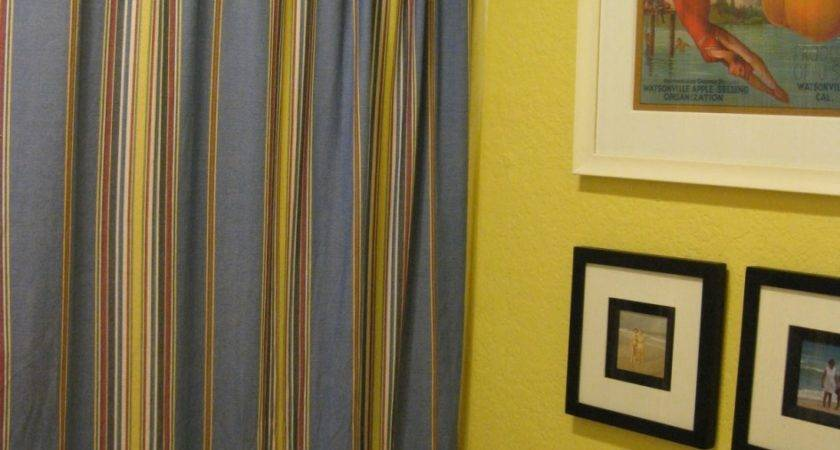 Blue Yellow Kitchen Curtains Decorating