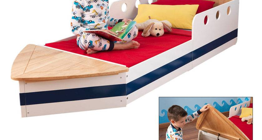 Boat Toddler Bed Autism