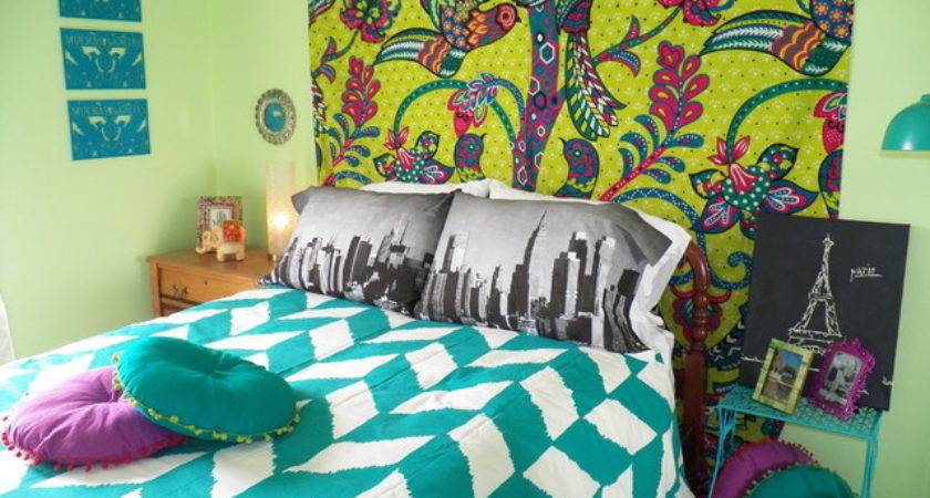 Bohemian Chic Teenage Bedroom Eclectic Kids Chicago