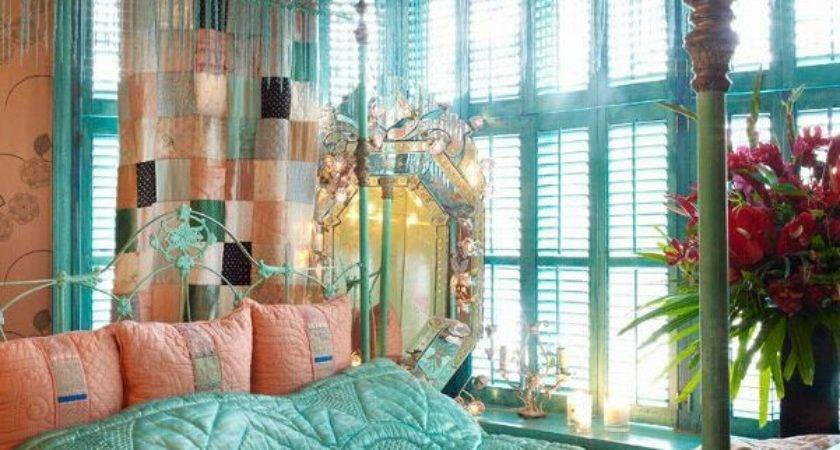 Bohemian Style Bedroom Interior Design