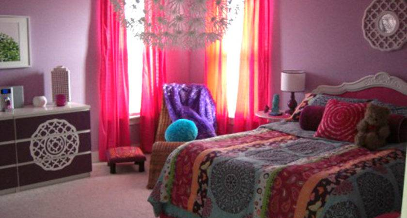 Bohemian Teen Bedroom Laurie Jones Home
