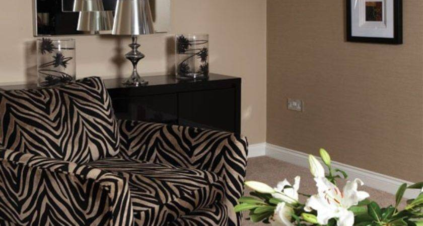 Bold Zebra Print Living Room Housetohome