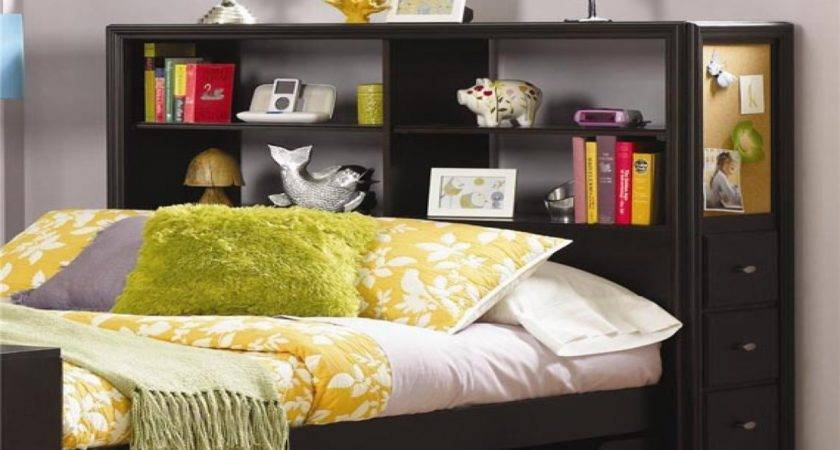 Bookcase Designs Ideas Bed Headboards Shelves