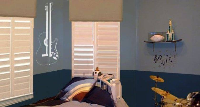 Boys Bedroom Themes Paint Home Style