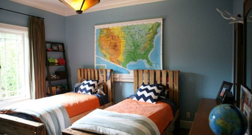 Boys Shared Bedrooms Decorating Ideas