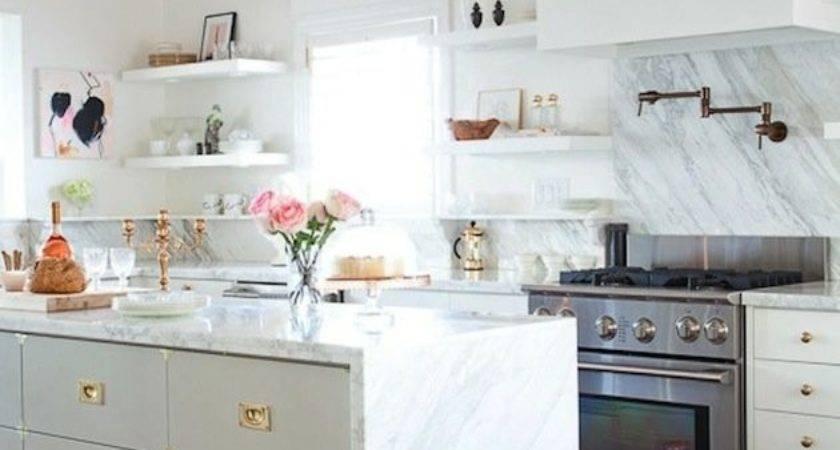 Brass Gold Accents Your Kitchen