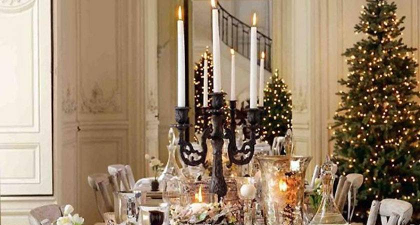 Breathtaking Christmas Tablescape Ideas