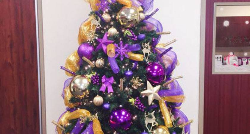 Breathtaking Purple Christmas Decorations Ideas All