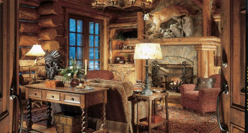 Breathtaking Rustic Lodge Cabin Home Decor Decorating