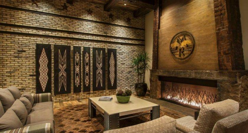 Brick Wall Designs Decor Ideas Living Room
