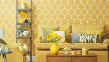 Bright Yellow Living Room Housetohome