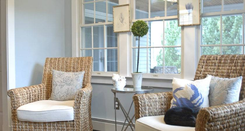 Bring Shore Into Home Beach Style Living Room