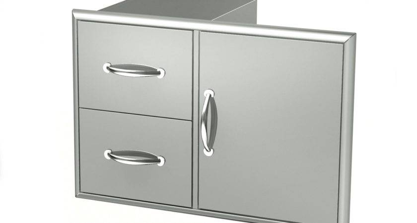 Broilchef Stainless Steel Drawers Double