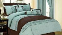 Brown Aqua Comforter Sets Duck River