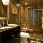 Brown Bathroom Home Design Ideas Remodel Decor