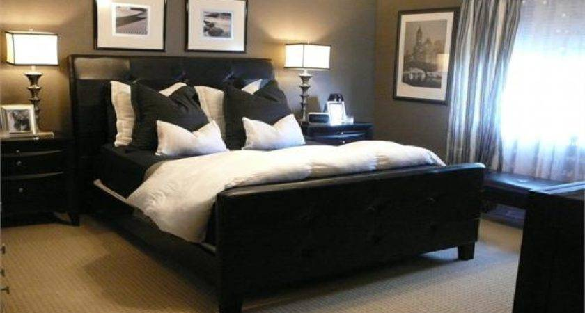 Brown Black Bedroom Design Ideas