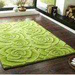 Brown Lime Green Rug Rugs Ideas