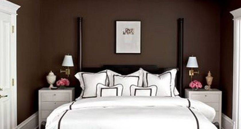 Brown Wooden Bed White Sheet Plus Black Bench