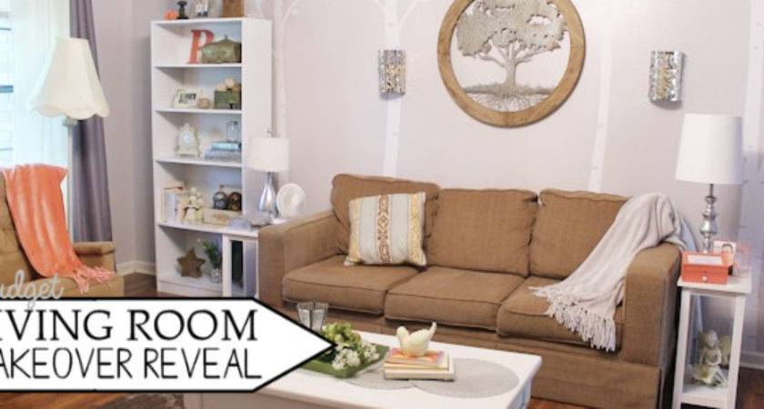 Budget Living Room Makeover Reveal Before After