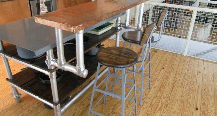 Build Kitchen Island Breakfast Bar